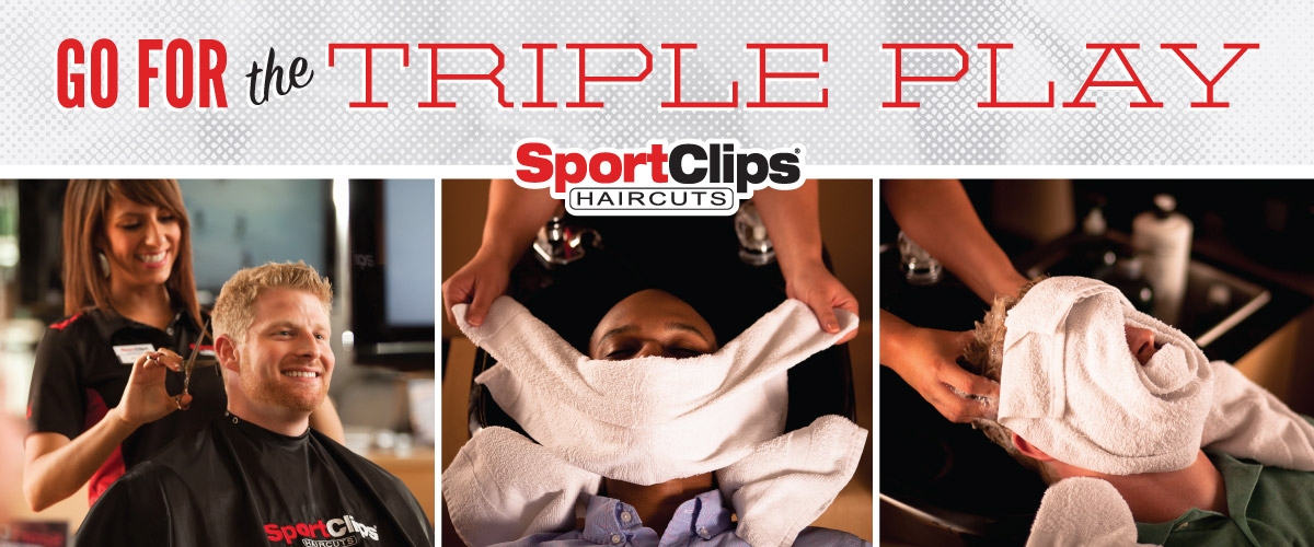 The Sport Clips Haircuts of Madison  Triple Play